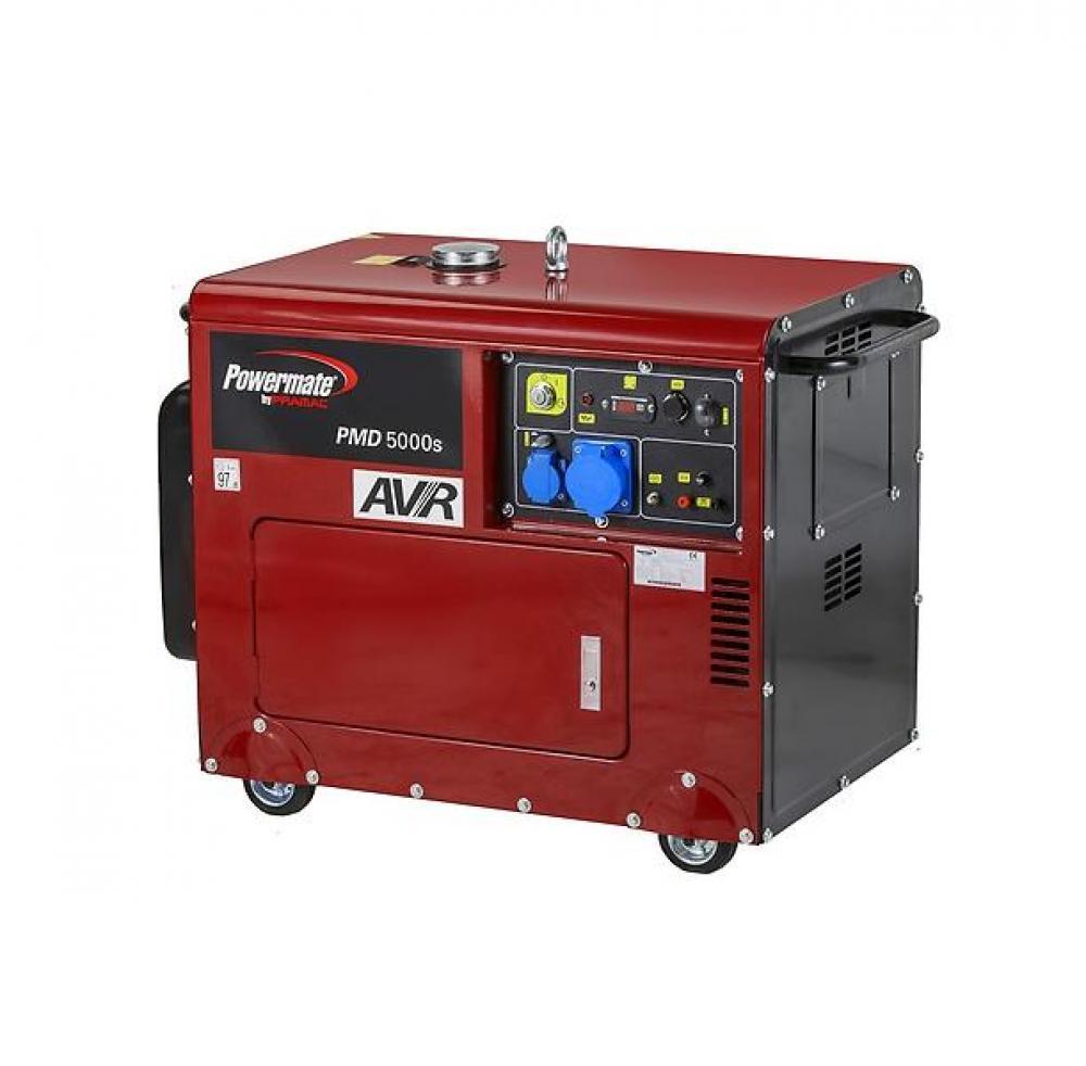 Дизельный генератор (электростанция) Pramac PMD5000s, 230V, 50Hz, #AVR,  Battery EC