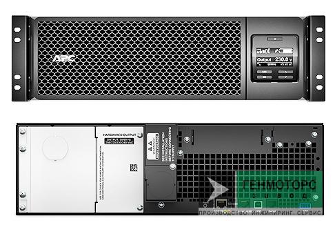 Источник бесперебойного питания APC Smart-UPS SRT5KRMXLW-HW