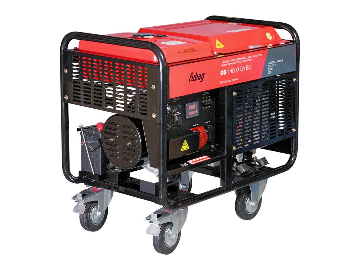 Дизельный генератор (электростанция) FUBAG DS 14000 DA ES