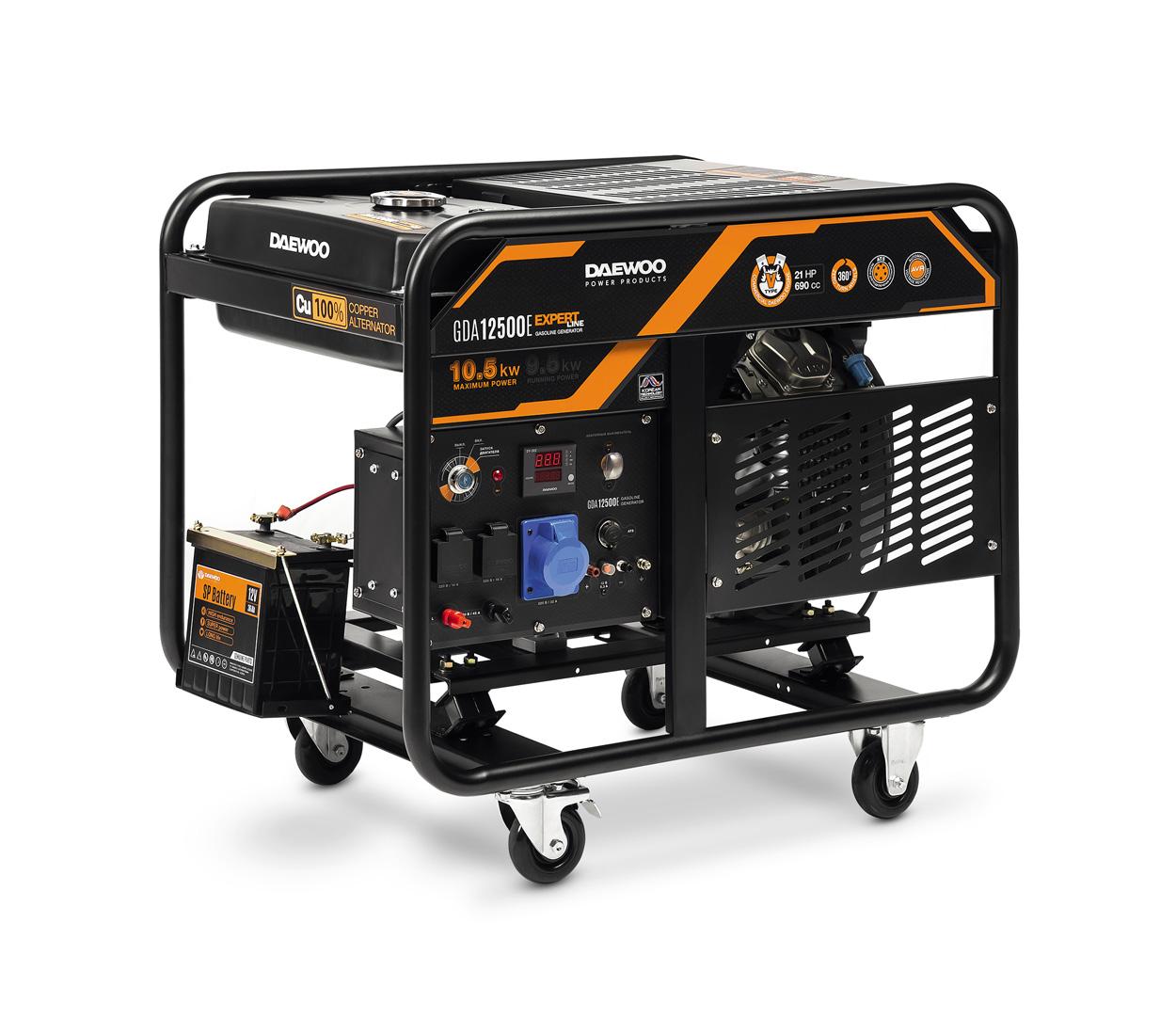 Бензиновый генератор (Бензогенератор) DAEWOO GDA 12500E