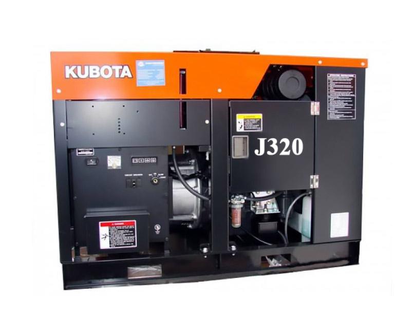 Дизельный генератор (электростанция) Kubota J320