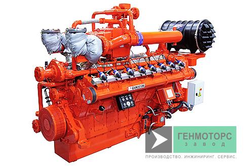 Газопоршневая электростанция (ГПУ) Guascor SFGLD360
