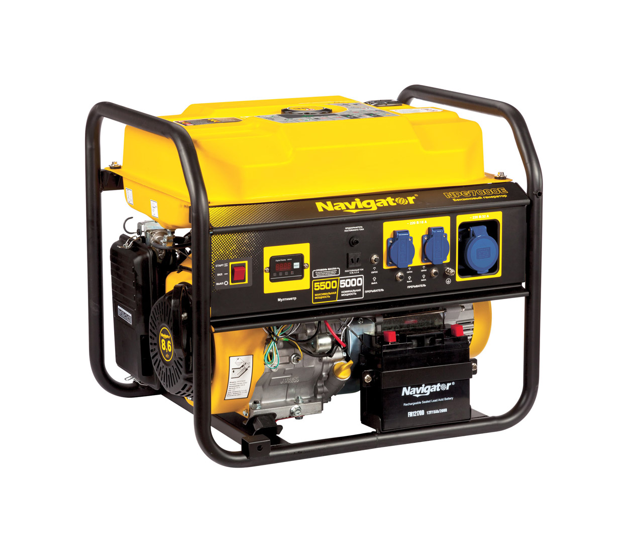 Бензиновый генератор (Бензогенератор) Firman NAVIGATOR NPG7000E