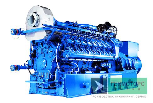 Газопоршневая электростанция (ГПУ) MWM TCG 2020 V16