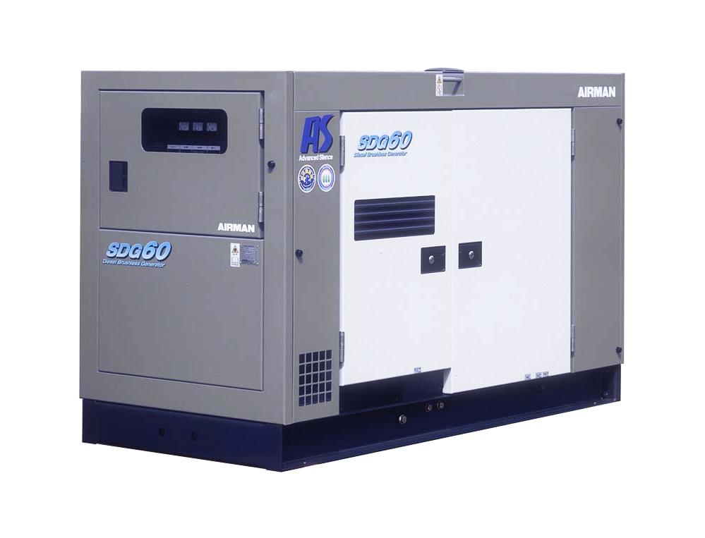 Дизельный генератор (электростанция) AIRMAN SDG60AS