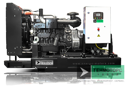 Дизельный генератор (электростанция) АД-240 IVECO