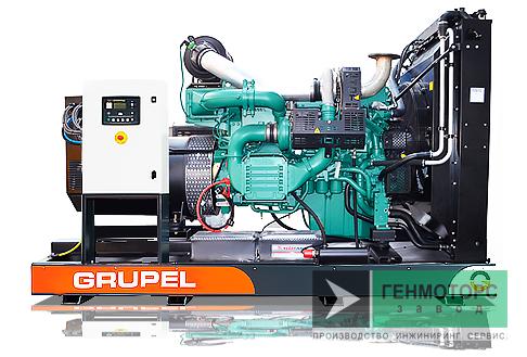 Дизельный генератор (электростанция) G550VVGR Grupel