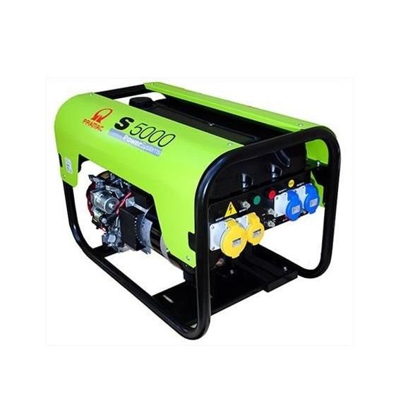 Бензиновый генератор (Бензогенератор) Pramac S5000, 230V, 50Hz #CONN