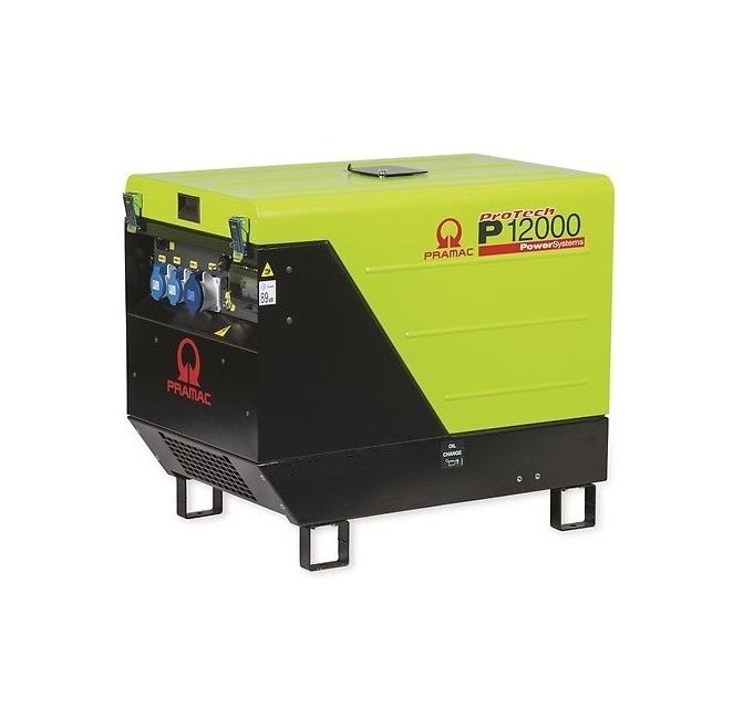 Бензиновый генератор (Бензогенератор) Pramac P12000, 400/230V, 50Hz #CONN #DPP