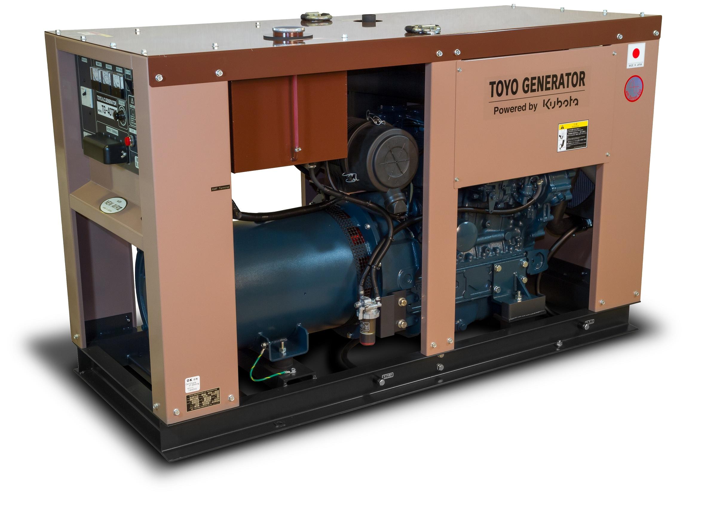 Дизельный генератор (электростанция) TOYO TG-40TPC