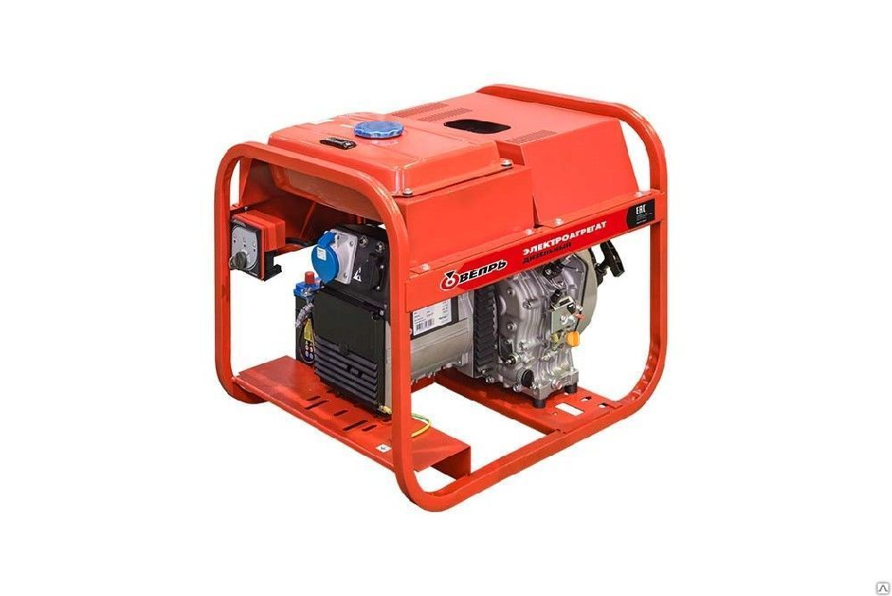 Дизельный генератор (электростанция) ВЕПРЬ АДП 6,5/3,2-Т400/230 ВЯ-БС