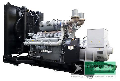 Дизельный генератор (электростанция) Gesan DPA 1100E