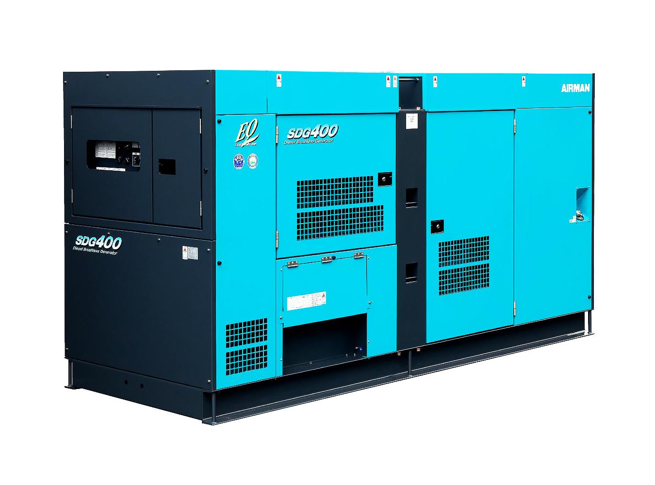 Дизельный генератор (электростанция) AIRMAN SDG400S