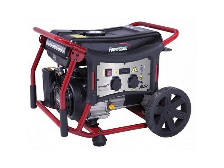 Бензиновый генератор (Бензогенератор) Рramac WX6200ES, 230V, 50Hz #AVR #Wheel kit