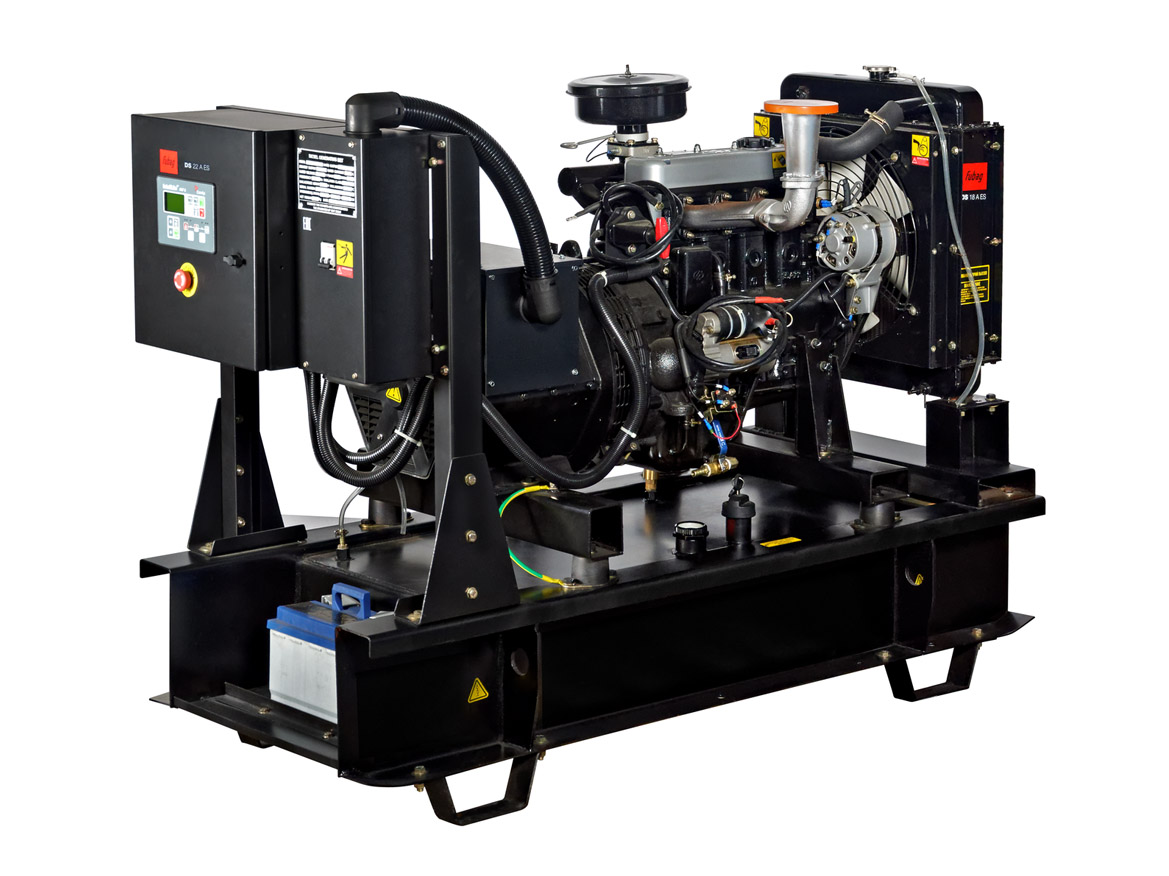 Дизельный генератор (электростанция) FUBAG DS 22 A ES