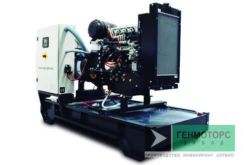 Дизельный генератор (электростанция) Grupel G91IVST