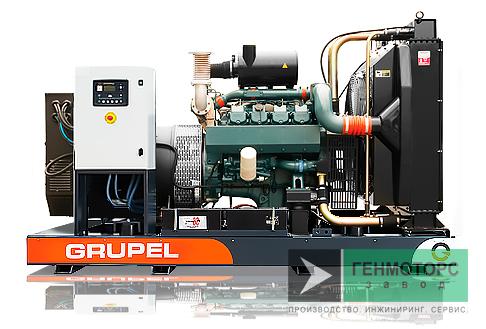 Дизельный генератор (электростанция) G495DSGR Grupel