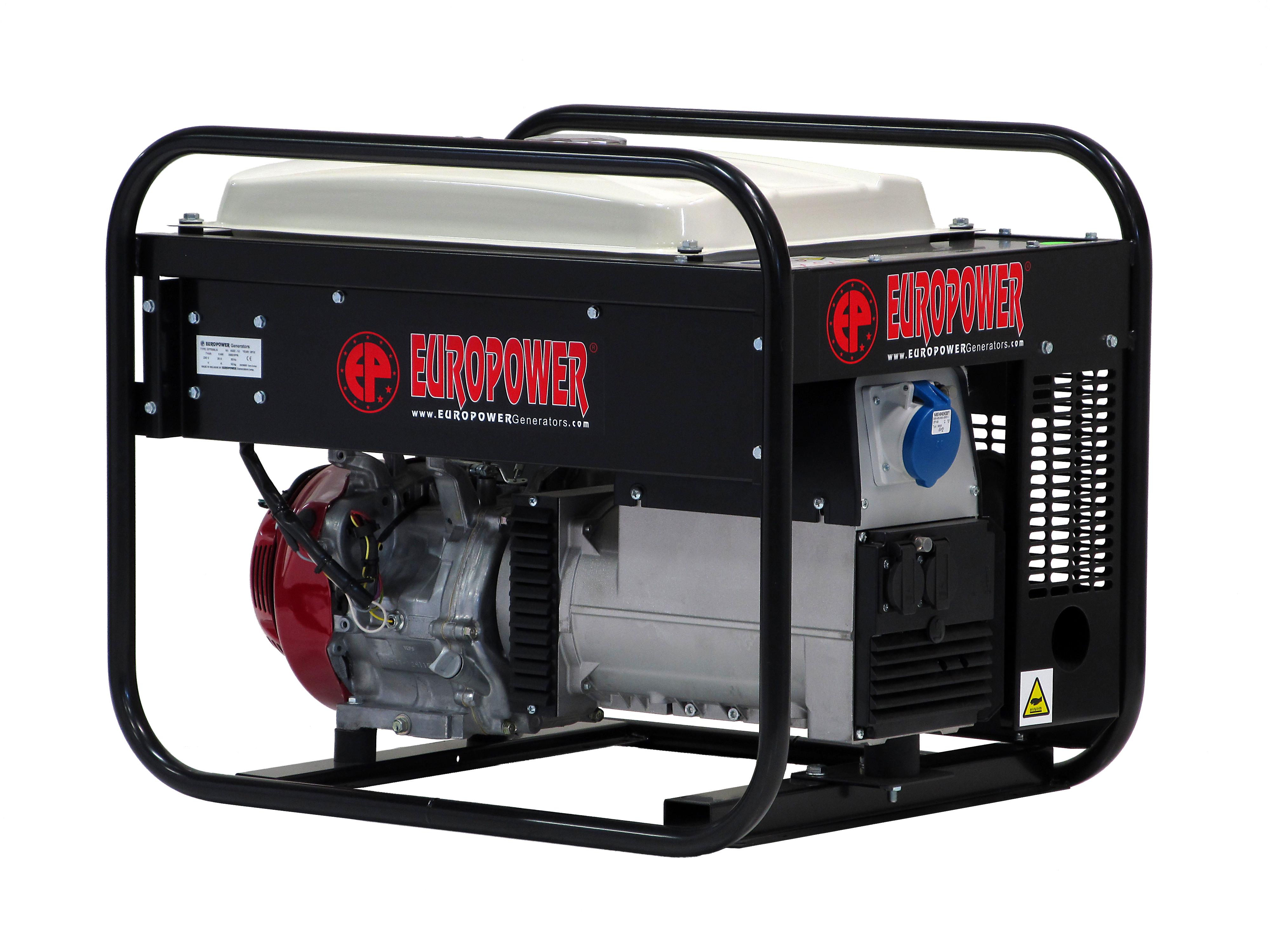Бензиновый генератор (Бензогенератор) EuroPower EP 7000