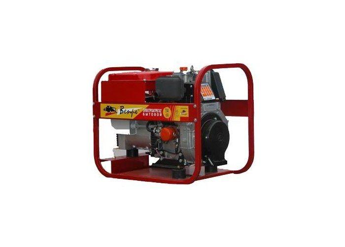 Дизельный генератор (электростанция) ВЕПРЬ АДП 8-230 ВЛ-БС