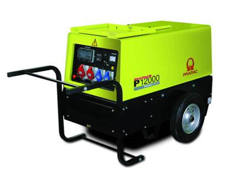 Дизельный генератор (электростанция) Pramac P12000, 400/230V, 50Hz #CONN #WHEEL KIT