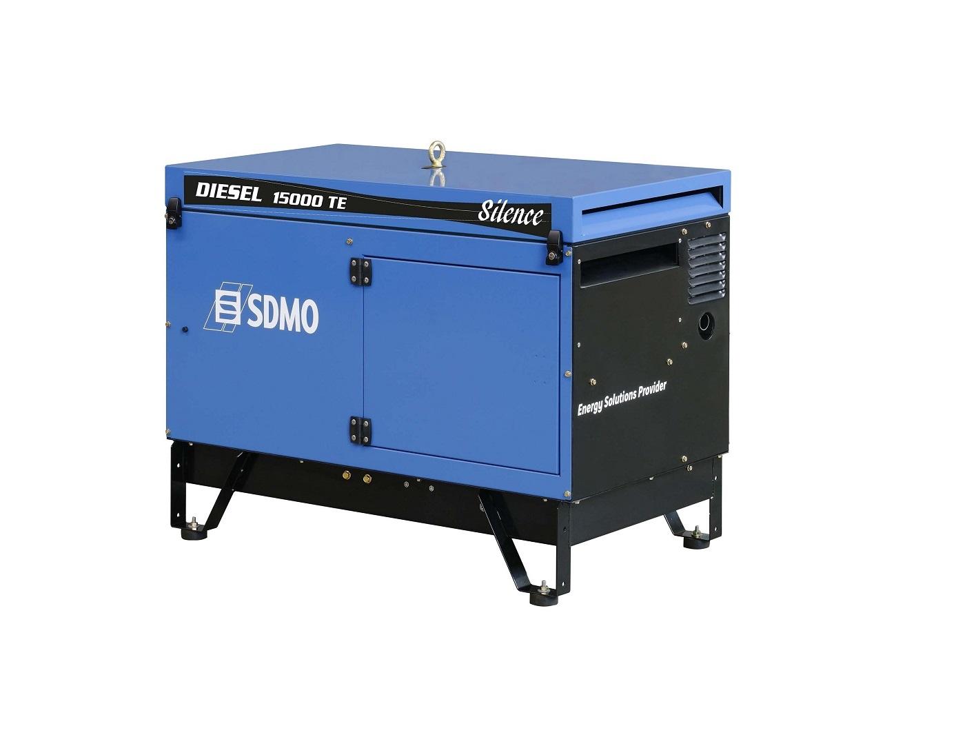 Дизельный генератор (электростанция) SDMO DIESEL 15000 TE AVR SILENCE