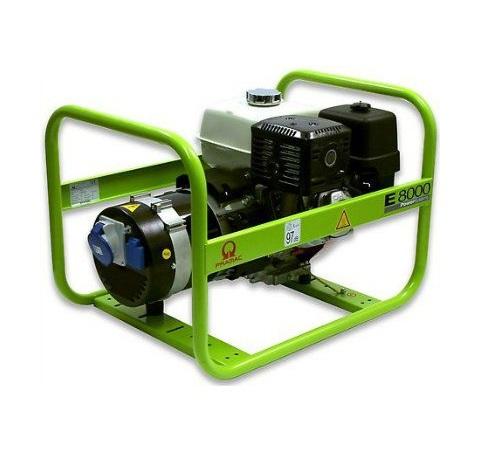 Бензиновый генератор (Бензогенератор) Pramac E8000, 400/230V, 50Hz