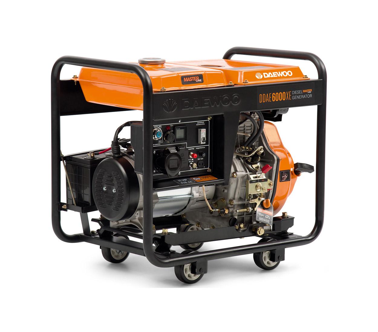 Дизельный генератор (электростанция) DAEWOO DDAE 6000XE