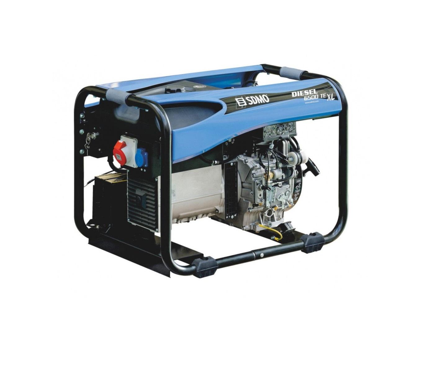 Дизельный генератор (электростанция) SDMO DIESEL 6500 TE XL C