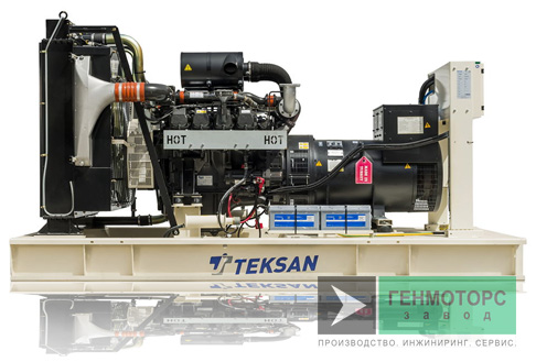 Дизельный генератор (электростанция) Teksan TJ350DW5C