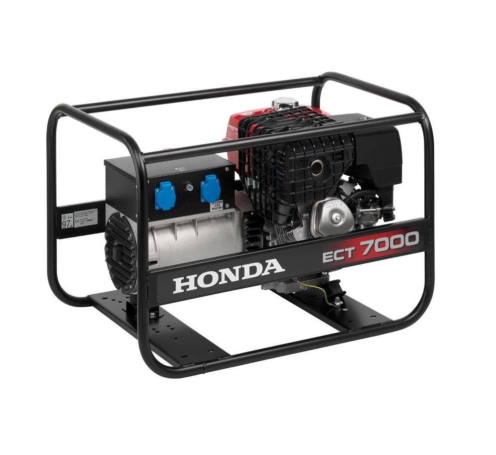 Бензиновый генератор (Бензогенератор) Honda ECT 7000
