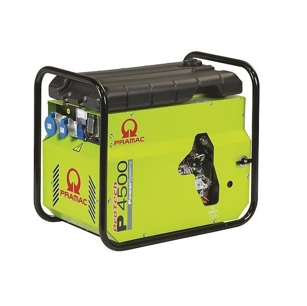 Дизельный генератор (электростанция) Pramac P4500, 230V, 50Hz #DPP