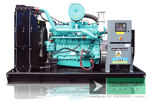 Газопоршневая электростанция (ГПУ) AKSA ADG165C