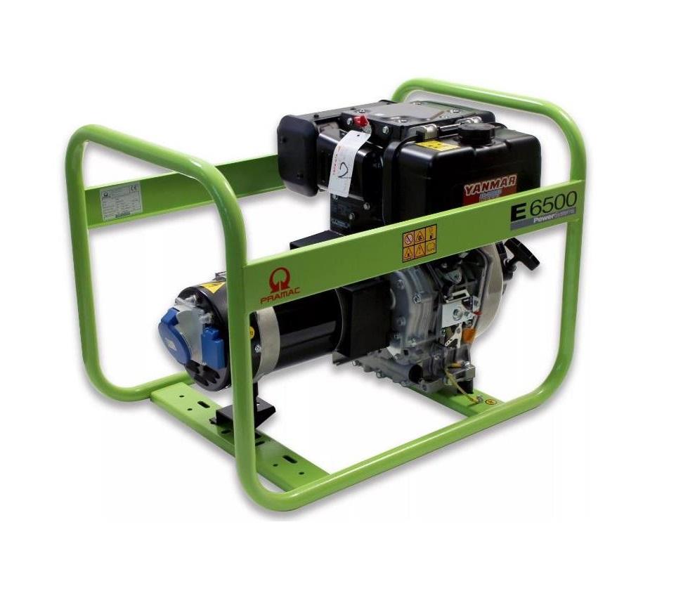Дизельный генератор (электростанция) Pramac E6500, 230V, 50Hz