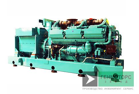 Дизельный генератор (электростанция) Cummins C2750D5