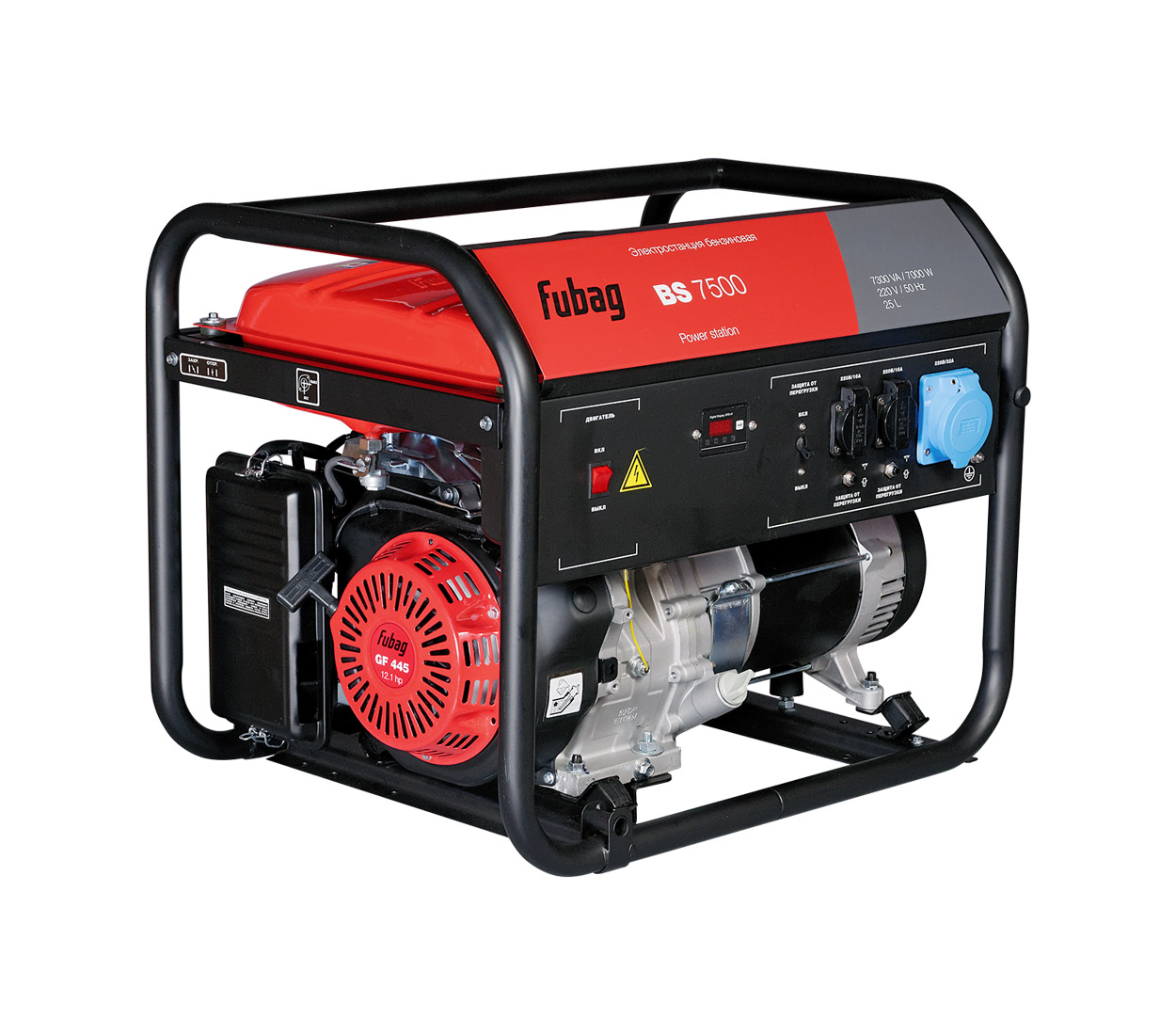 Бензиновый генератор (Бензогенератор) FUBAG BS 7500