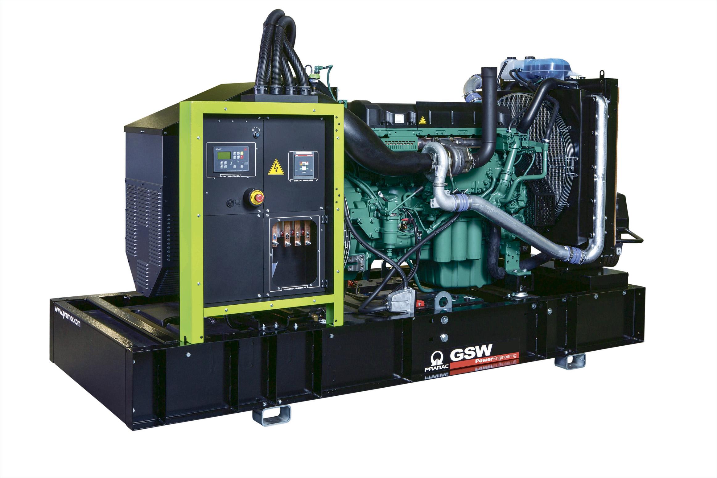 Дизельный генератор (электростанция) Pramac GSW150V