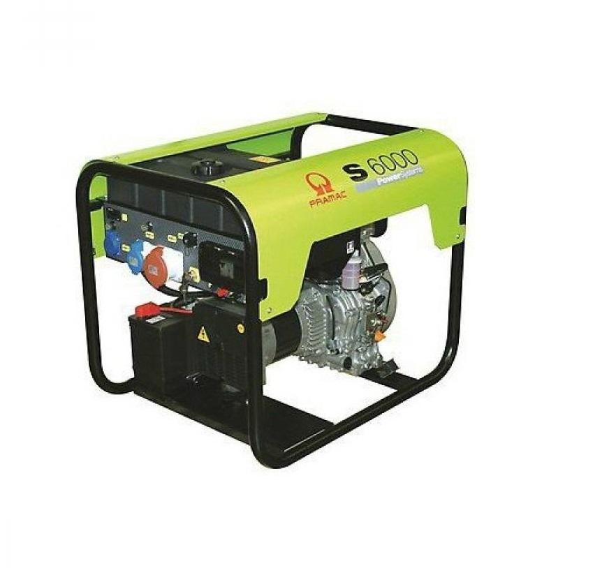 Дизельный генератор (электростанция) Pramac S6000 (24L), 400/230V, 50Hz #CONN #DPP
