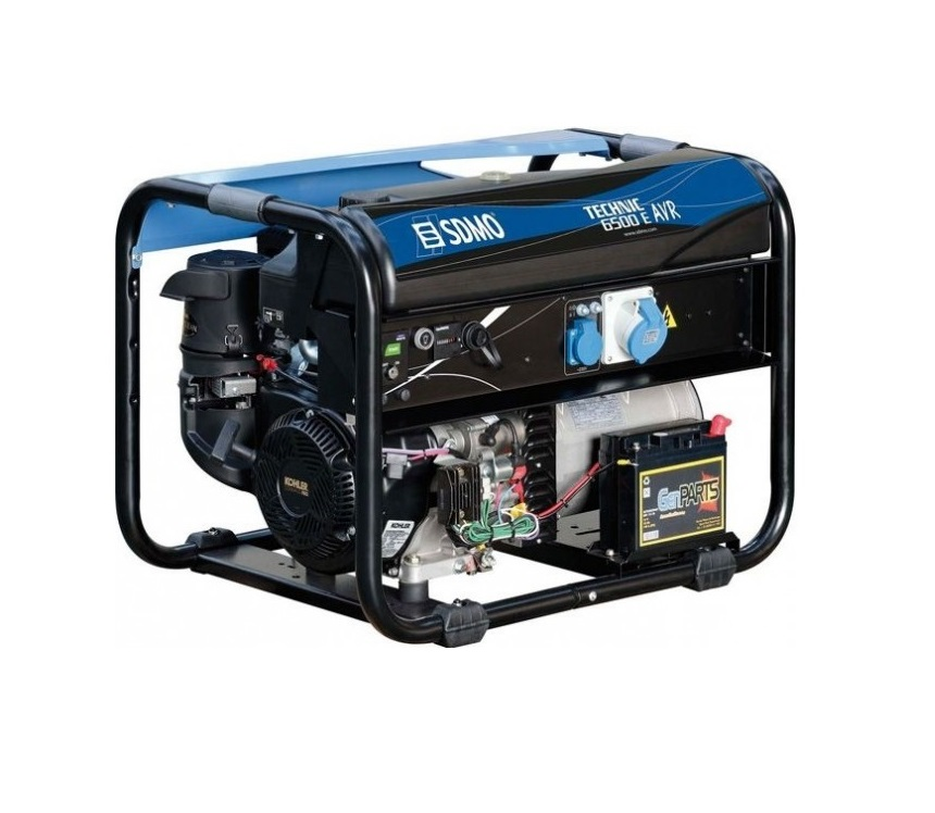 Бензиновый генератор (Бензогенератор) SDMO TECHNIC 6500 E AVR M