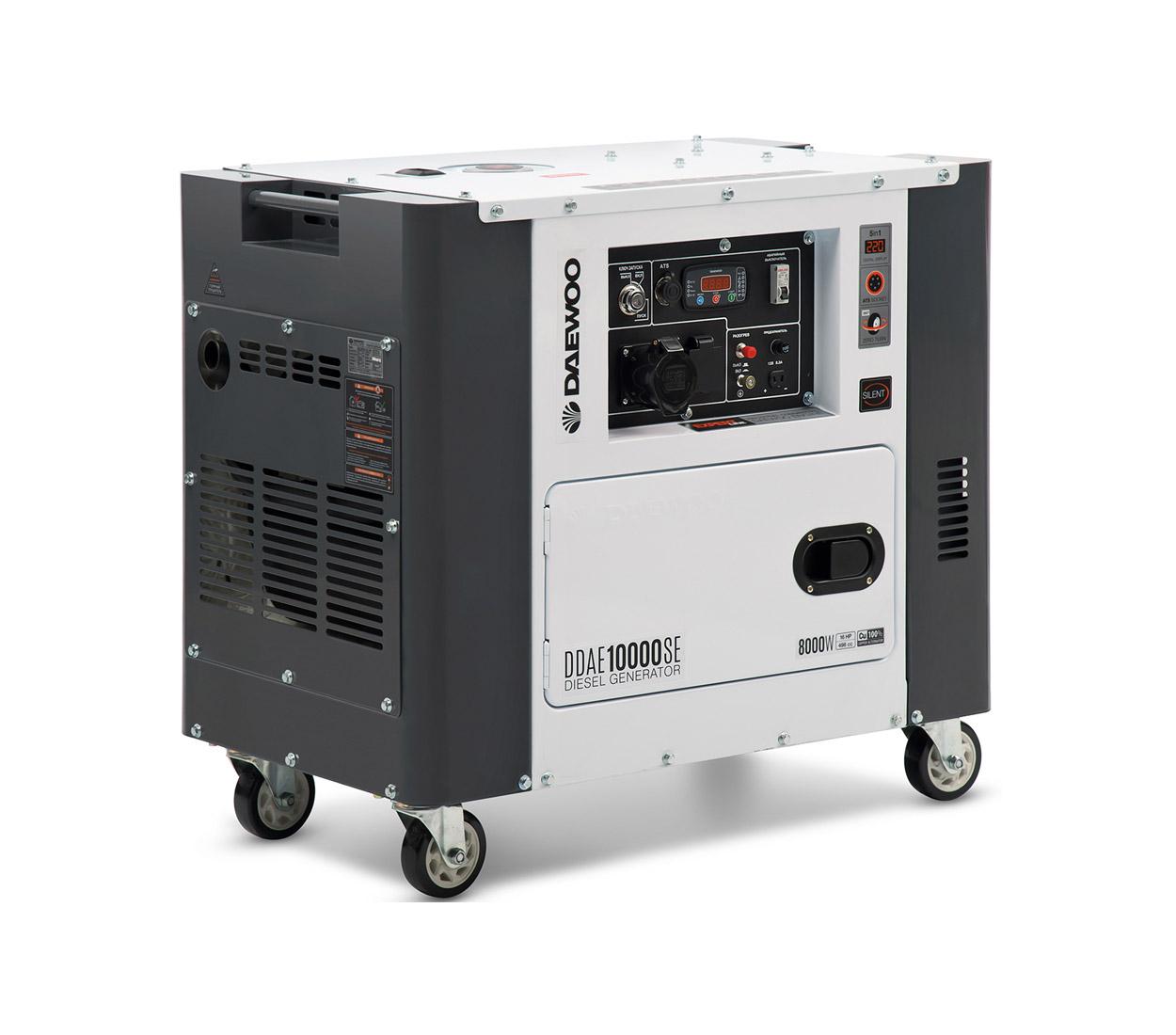 Дизельный генератор (электростанция) DAEWOO DDAE 10000SE