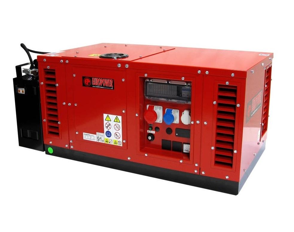 Бензиновый генератор (Бензогенератор) Europower EPS 15000 TE