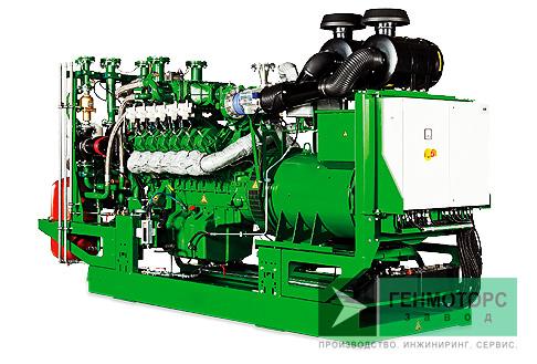 Газопоршневая электростанция (ГПУ) 2G Avus 1500b