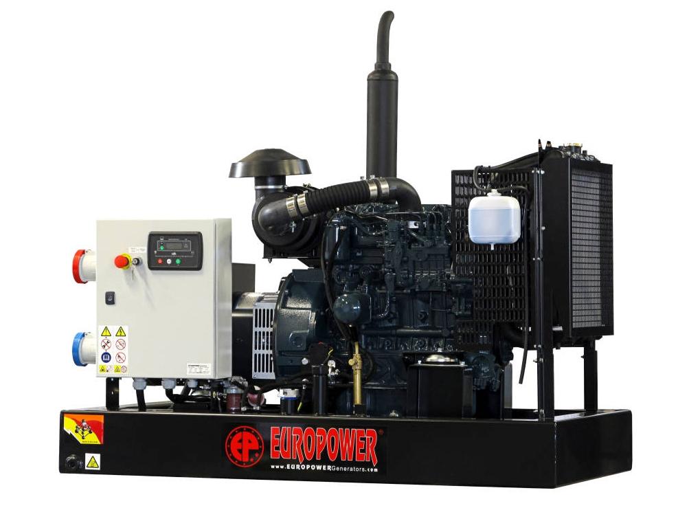 Дизельный генератор (электростанция) Europower EP 30 DE