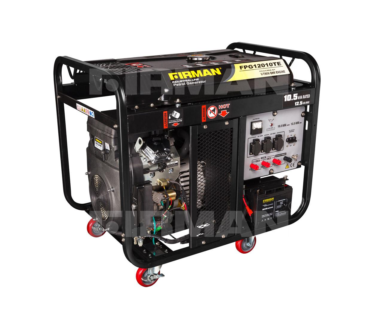 Бензиновый генератор (Бензогенератор) Firman FPG12010TЕ