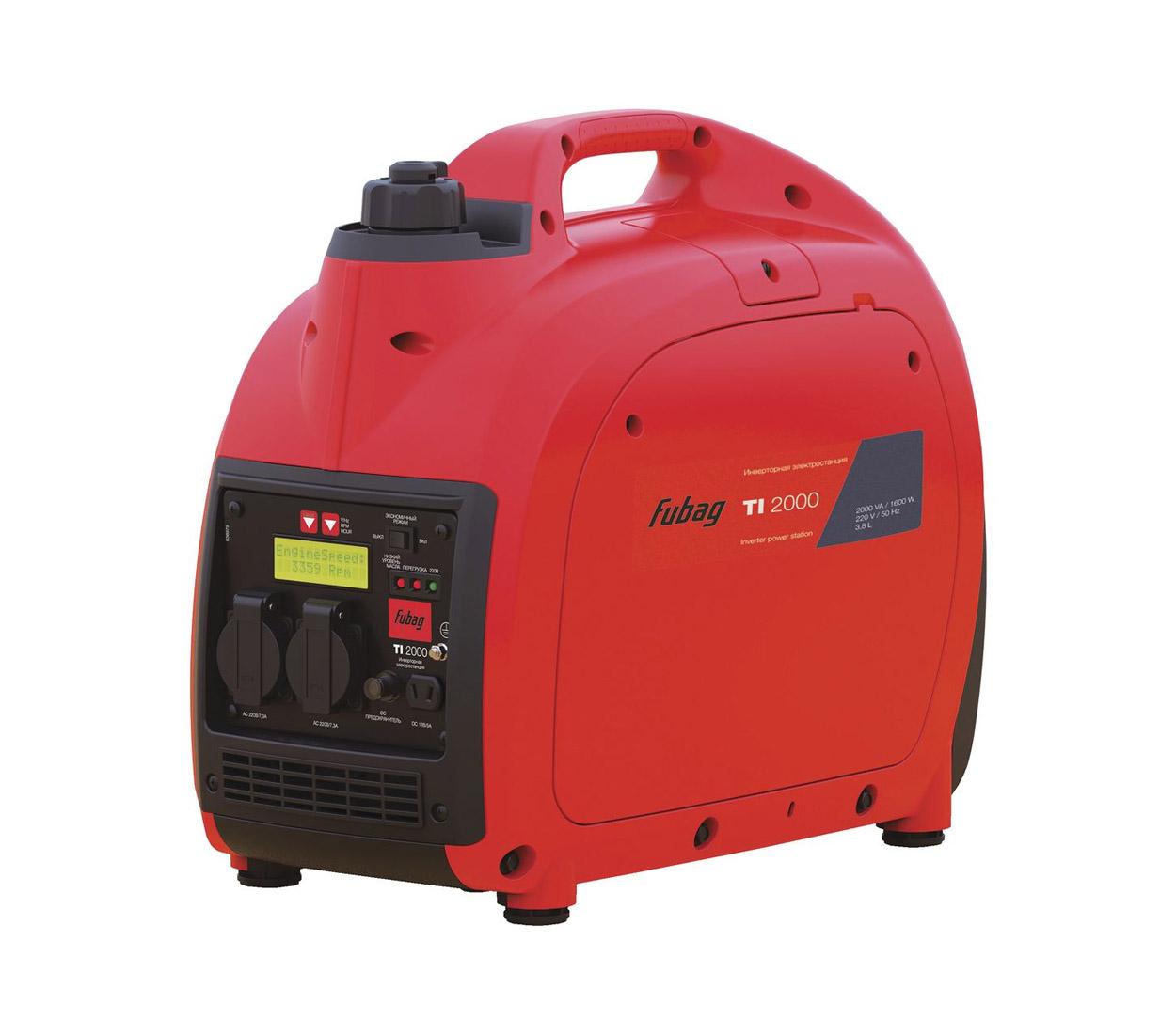 Бензиновый генератор (Бензогенератор) FUBAG TI 2000