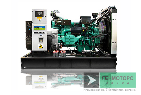 Дизельный генератор (электростанция) AKSA AVP415