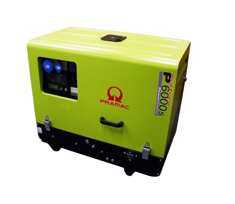 Дизельный генератор (электростанция) Pramac P6000s, 400/230V, 50Hz #CONN #DPP
