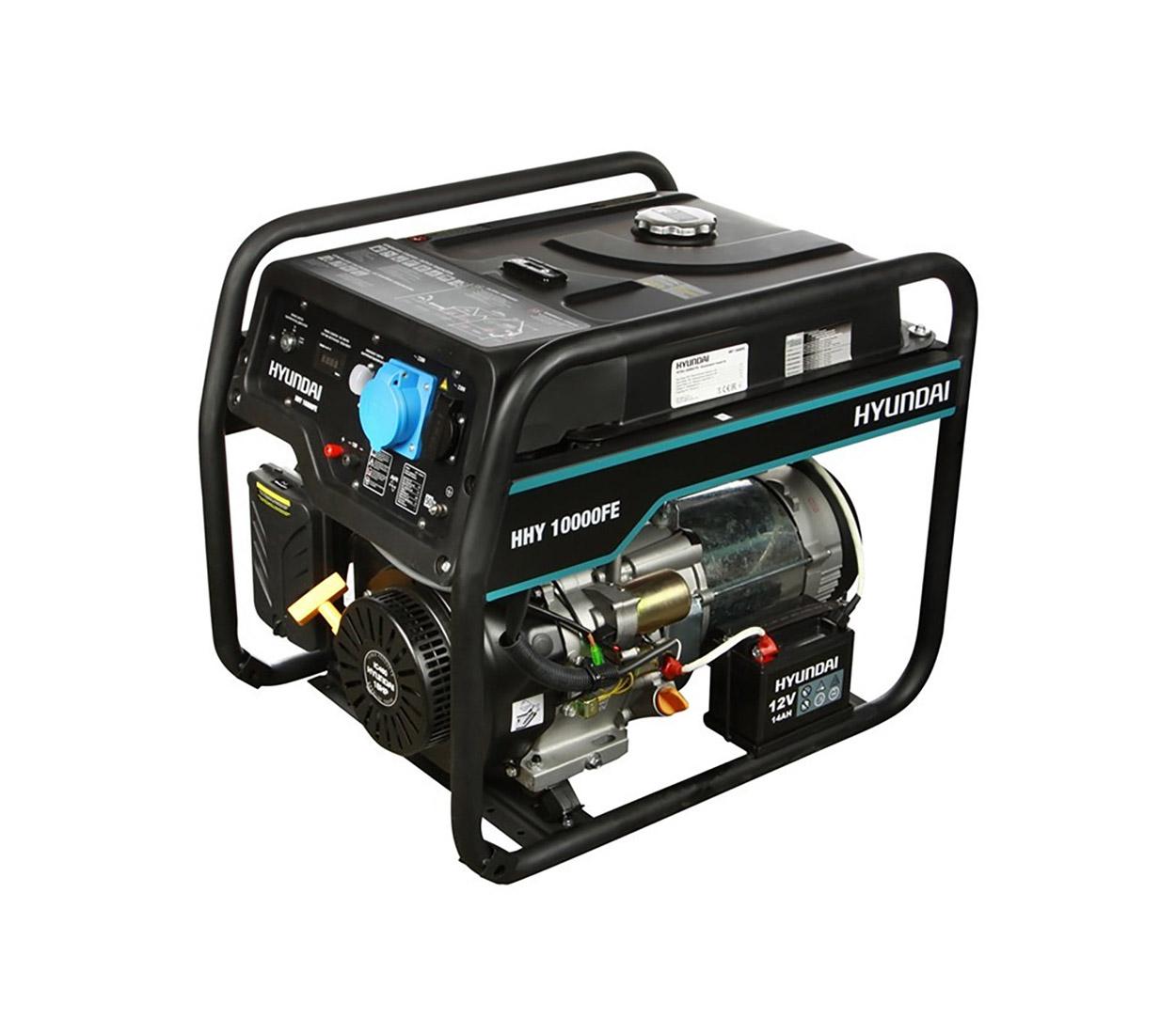 Бензиновый генератор (Бензогенератор) HYUNDAI HHY 10000FE ATS