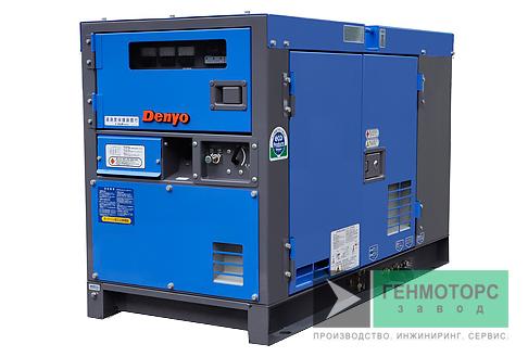 Дизельный генератор (электростанция) DENYO DCA-13LSK