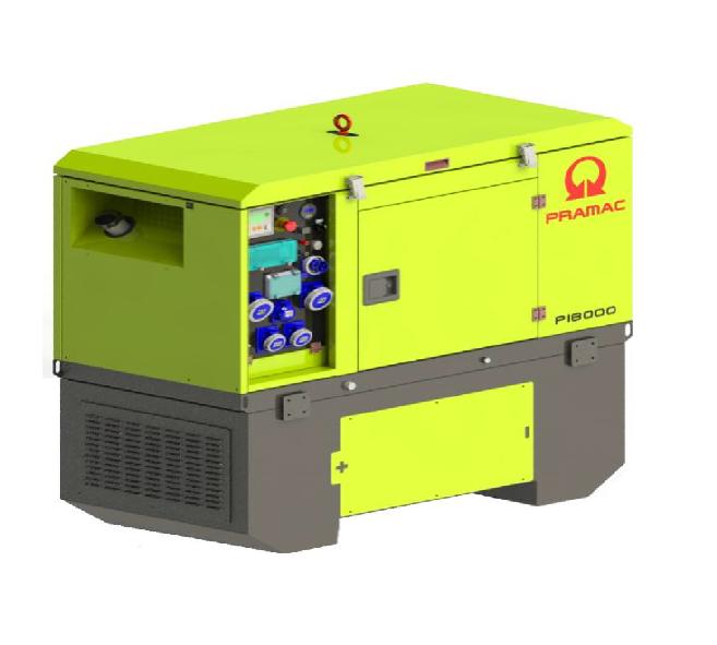 Дизельный генератор (электростанция) Pramac P18000, 400/230V, 50Hz
