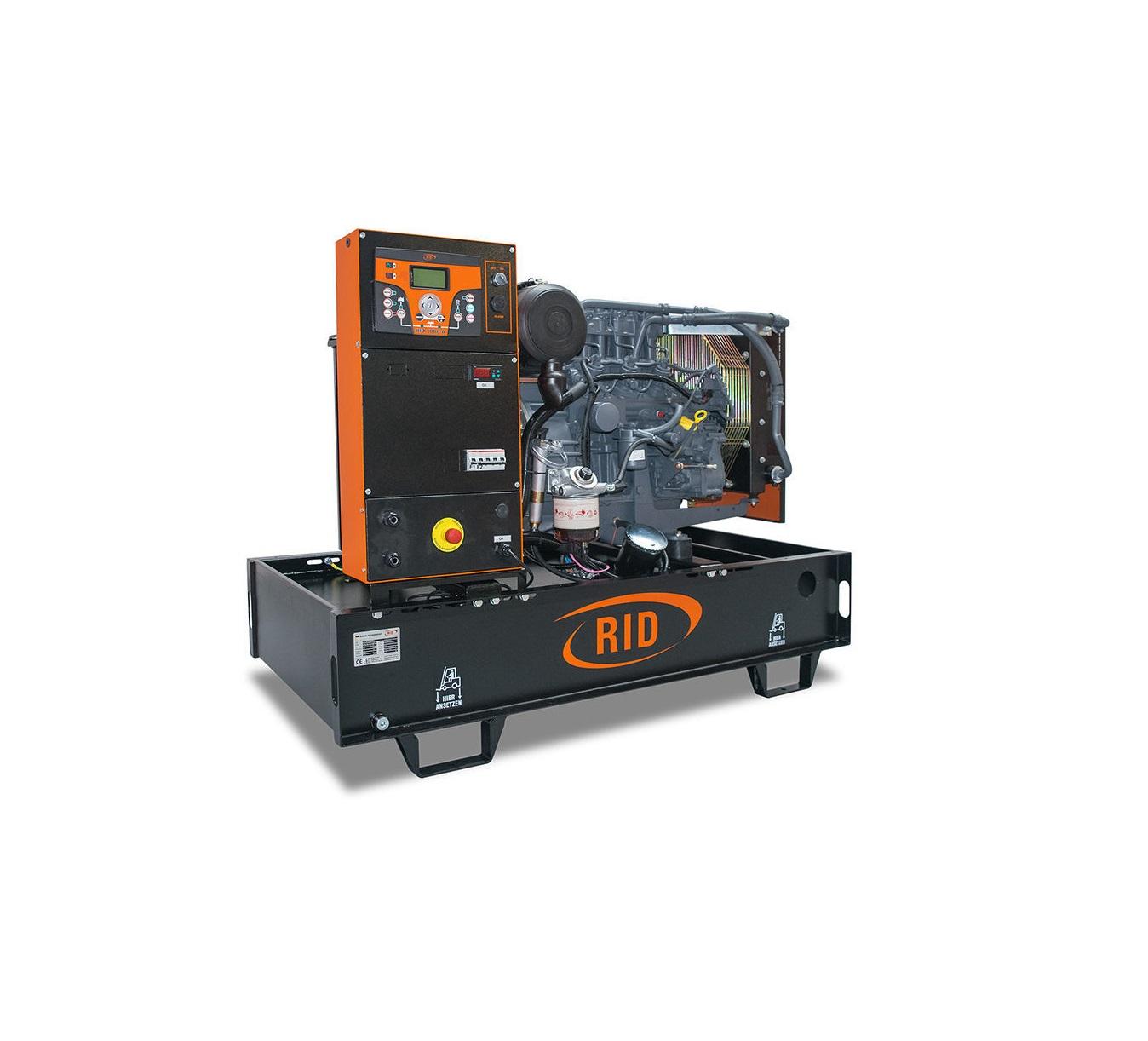 Дизельный генератор (электростанция) RID 30 S-SERIES